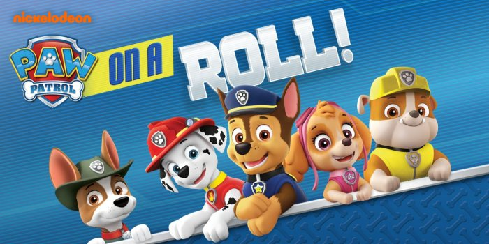Paw Patrol On A Roll!
