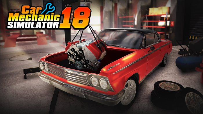 Car Mechanic Simulator 2018 + все DLC