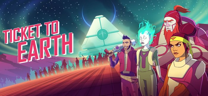 Ticket to Earth Episode 1-4