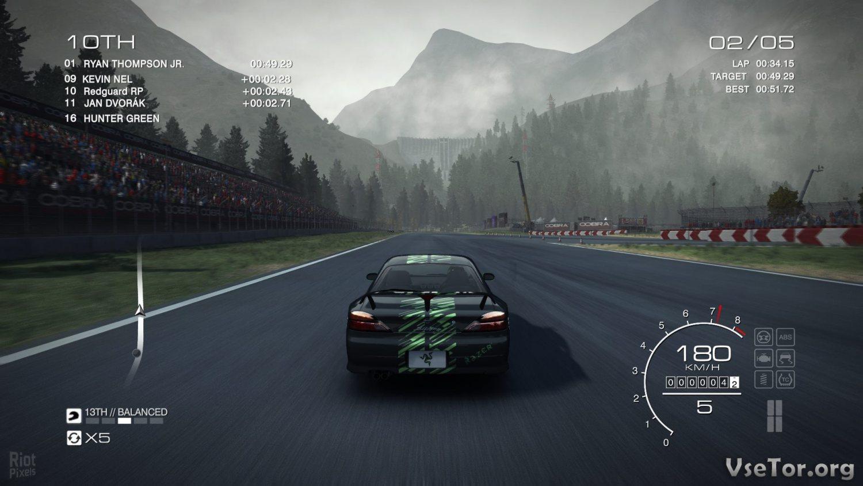 Скачать Grid Autosport на русском от Механиков - Xecam