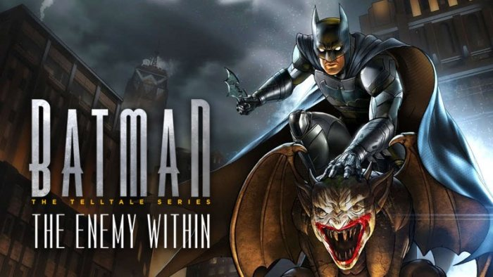 Batman The Enemy Within - Episode 1-5