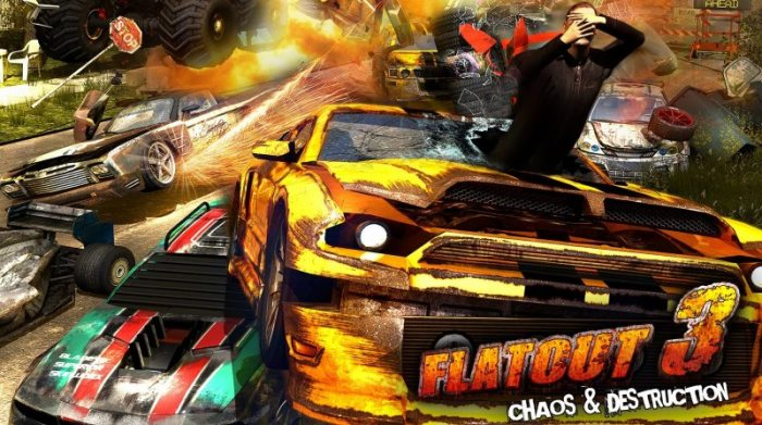 FlatOut 3 Chaos & Destruction v1.04u10