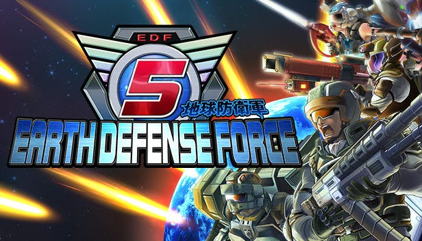 Earth Defense Force 5 + все 20 DLC