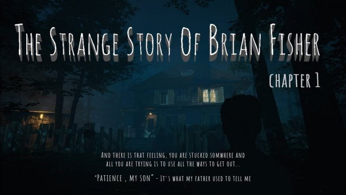 The Strange Story Of Brian Fisher: Chapter 1